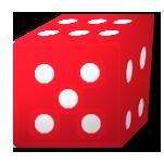3D旋转骰子