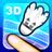 3D羽毛球