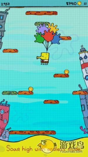 涂鸦跳跃:海绵宝宝图4