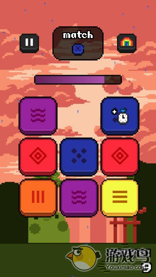 彩虹方块图1: