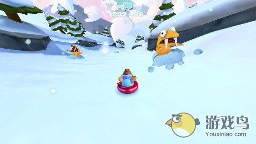企鹅俱乐部滑雪赛图2: