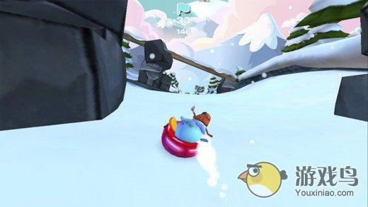 企鹅俱乐部滑雪赛图3: