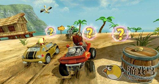 沙滩赛车竞速图1: