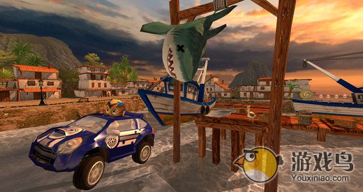 沙滩赛车竞速图2: