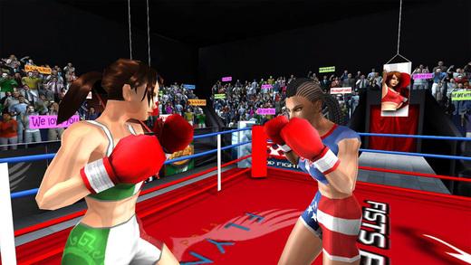 女子拳击对抗图1: