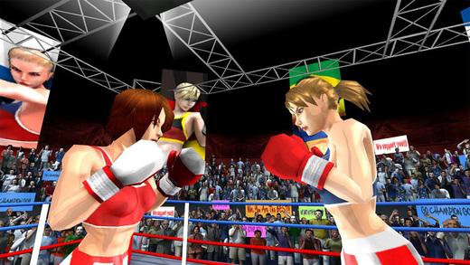 女子拳击对抗图5:
