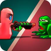 蠕虫大战青蛙3D