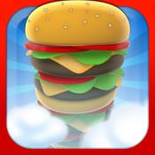 空中疊漢堡