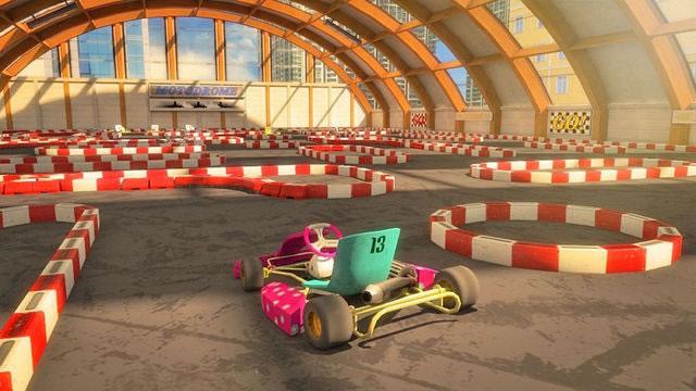 卡丁车停车场3D图1: