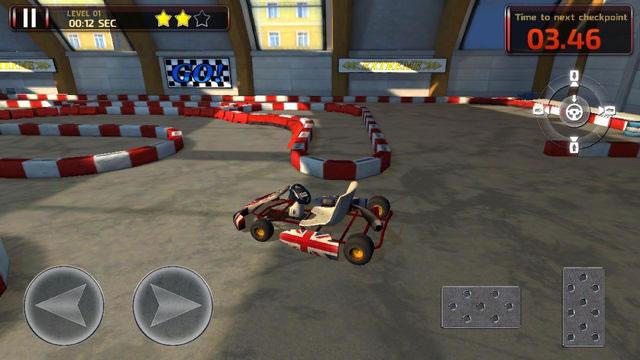 卡丁车停车场3D图2: