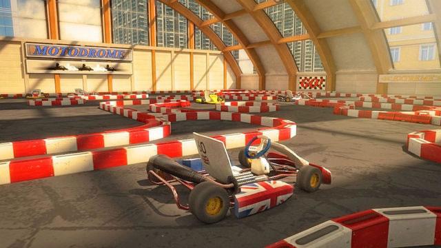 卡丁车停车场3D图4:
