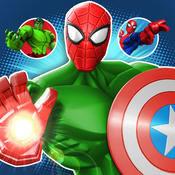 混合粉碎:漫威超级英雄合体