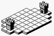 黑白像素策略卡牌对战《城堡》预告片