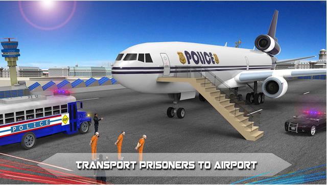 警方飞机监狱航班图1: