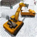 雪挖掘机模拟器3D