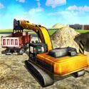 沙挖掘机卡车模拟3D