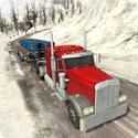 越野雪小山卡车3D
