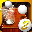 玻璃杯乒乓球2
