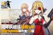 《少女前线》5.20周年庆 主题列车全线出击[多图]